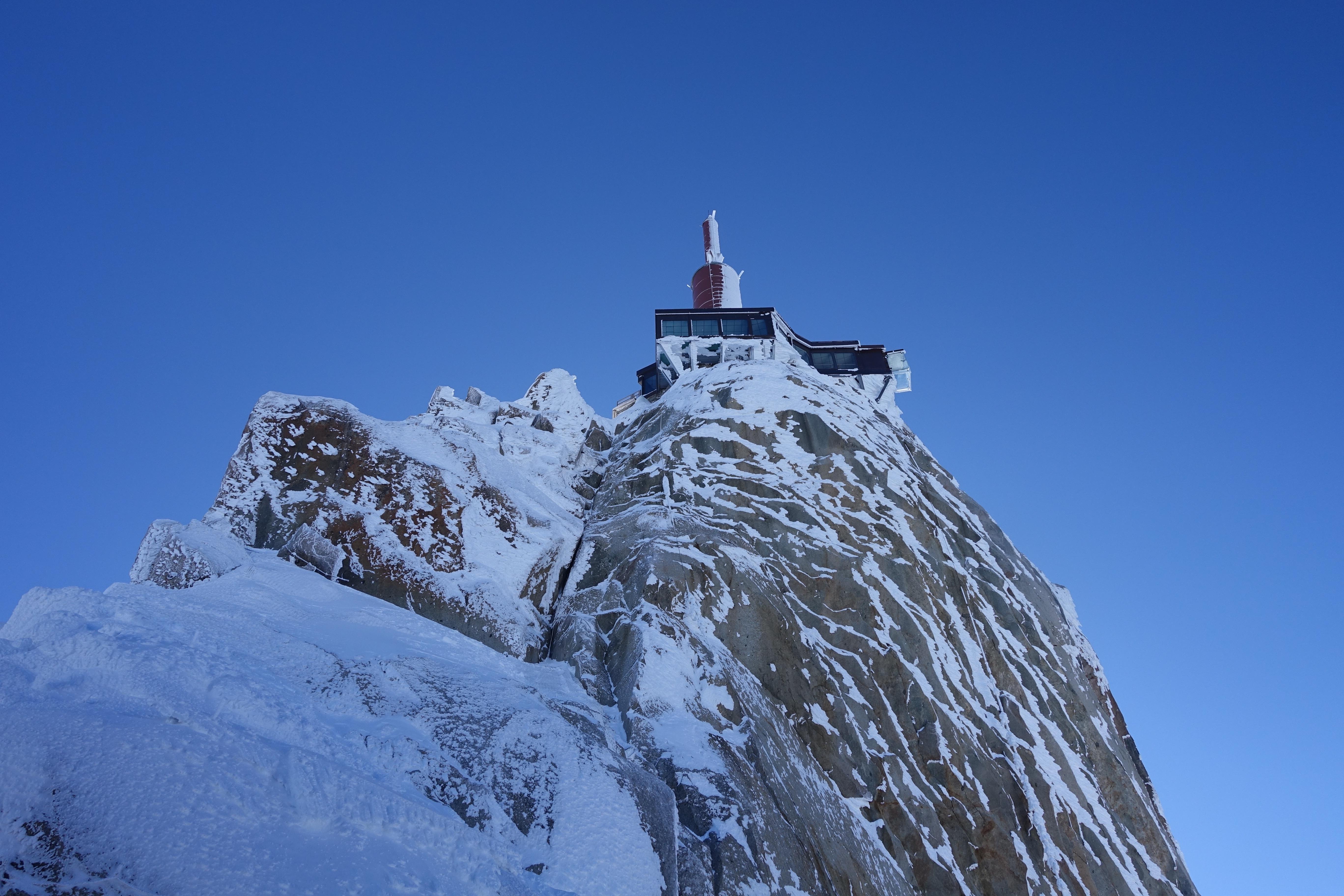 Sightseeing in Chamonix