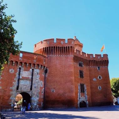 The Castillet - A Catalan Castle