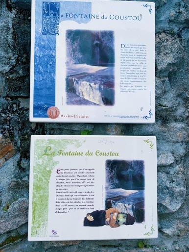 La fontaine du Coustou